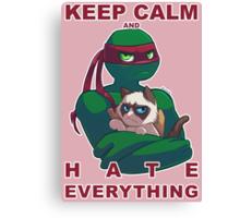 Grumpy Raph Canvas Print