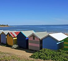 Brighton Beach Boxes - Victoria - Australia by bayside2