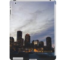 Christmas in Boston iPad Case/Skin