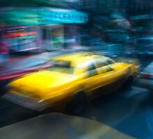 New York Yellow Cabs 1992 by Plant Photo
