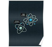 Negative Atom Poster