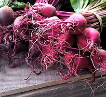 Farmers' Market- beets by hankierat