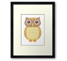 One Friendly Owl Framed Print
