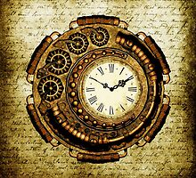 Steampunk Time Machine by Steve Crompton
