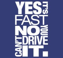 Yes it's fast No you can't drive it (5) by PlanDesigner