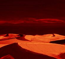 Dunes at nightfall by artbyengels