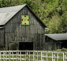 Kentucky Barn Quilt - 3 by mcstory