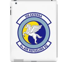 6th Air Refueling Squadron - Vis Extensa - Strength Extended iPad Case/Skin