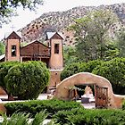 El Santuario de Chimayo Mission by Gordon  Beck