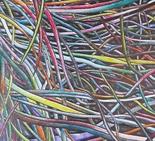 Multi-Colour Wire Art by GooeyJ