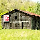 Kentucky Barn Quilt - Flying Geese by mcstory