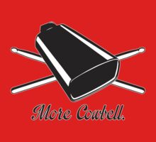 More cowbell Kids Clothes