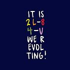 WE R-EVOLTING! Phone case by grcekang