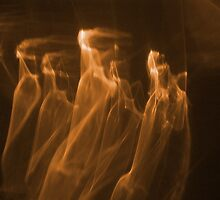 The Golden Phantoms Procession by michel bazinet