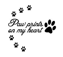 Paw Prints by 4getsundaydrvs