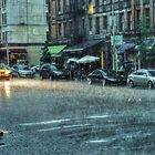 NY Downpour by Stephen Burke