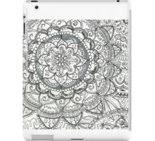 Floral Tangle, squared iPad Case/Skin