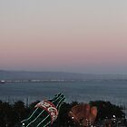 AT&T Park Sunset by tatiananori