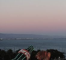 AT&T Park Sunset by tatiananori