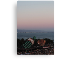 AT&T Park Sunset Canvas Print