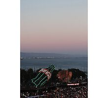 AT&T Park Sunset Photographic Print