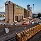 Passing the Portland Grain Terminal by thatche2