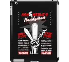 Ash & Merle's Handyman Appliances iPad Case/Skin