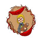 LOG WHISPERER, Log Lady by Bantambb