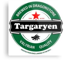 Targaryen Brewing Co. Metal Print