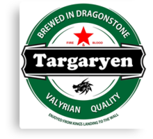 Targaryen Brewing Co. Canvas Print