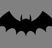 1943 - Batman's Chest Symbol by Jaybergs