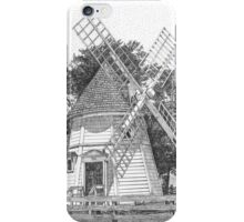 Windmill on Water Street, Historic Yorktown, Virginia iPhone Case/Skin
