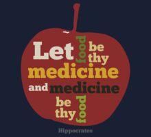 APPLE  | Let Food be thy Medicine  Kids Clothes