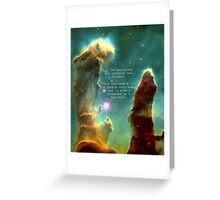 Hitchhiker's Guide Quote Greeting Card