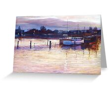 'Harbour Lights - Apollo Bay' Greeting Card
