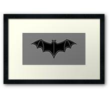 1949 - Batman Serials Chest Symbol Framed Print