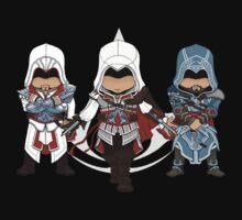 Ezio Auditore da Firenze Chibi Assassin Trio Kids Clothes