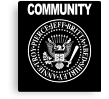 Community - Great Seal of the Study Group Canvas Print
