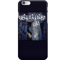 Funeral for a Friend HOURS iPhone Case/Skin