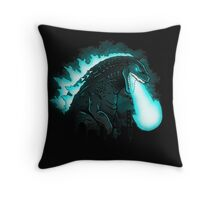 Atomic Destruction (Collab with Drew Wise) Throw Pillow