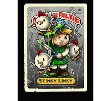 Stinky Linky Photographic Print