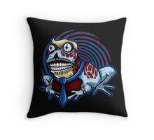 HypnOBEYtoad Throw Pillow
