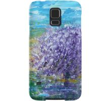 Purple Blossoms Samsung Galaxy Case/Skin