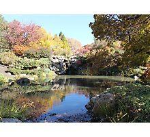 Autumn Reflection 2 Photographic Print