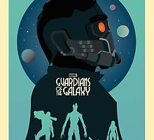 Guardians Of The Galaxy by Dead Pixel