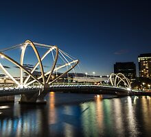 Seafarers Bridge in Melbourne, Australia by Nils Versemann