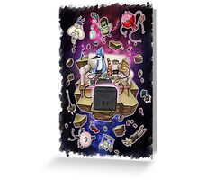 Regular Show Lost in Universe Greeting Card