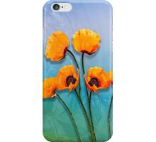 Oriental Poppies  iPhone Case/Skin