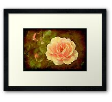How Can You Mend a Broken Heart? Framed Print
