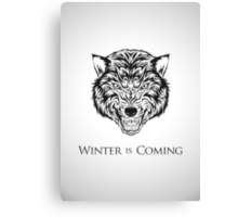 House Stark Banner Canvas Print